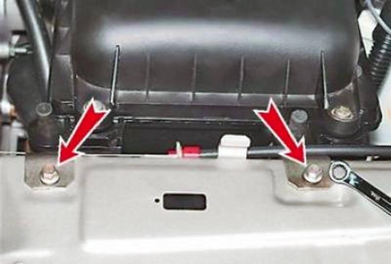 Крепление воздушного фильтра ВАЗ 2114