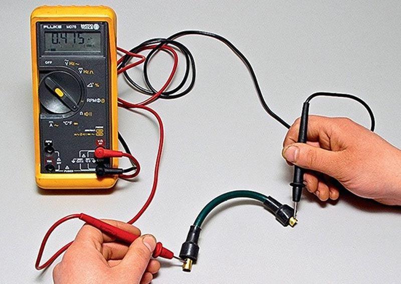 Проверка свечных проводов на ВАЗ 2114