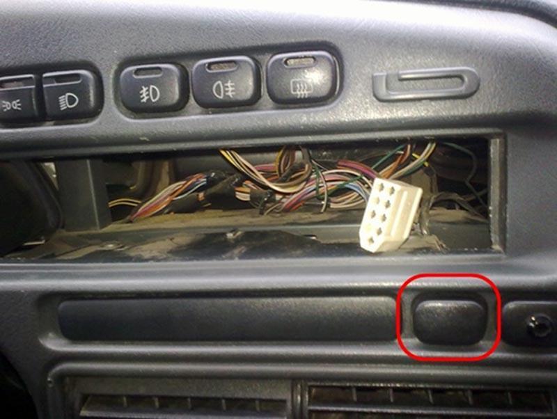 Кнопка-заглушка ВАЗ 2114