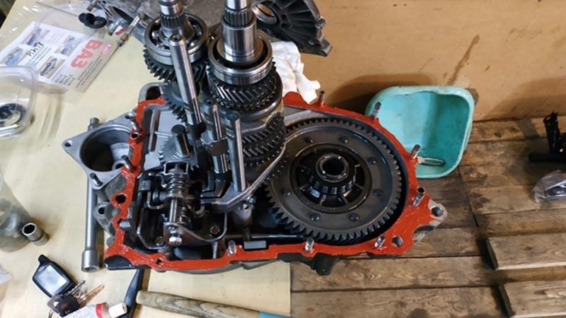 Коробка передач ВАЗ 2114: схема