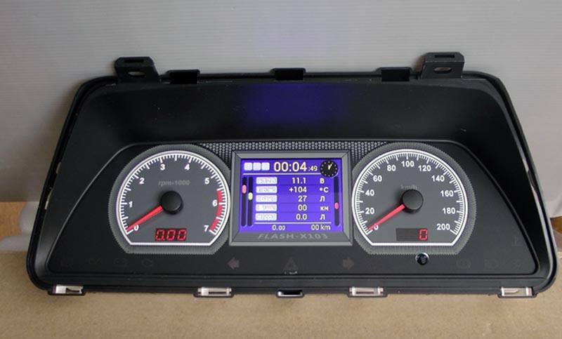Тюнинг приборной панели ВАЗ 2114