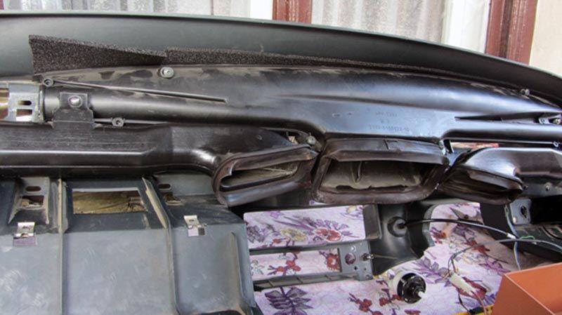 ВАЗ 2114: устройство печки