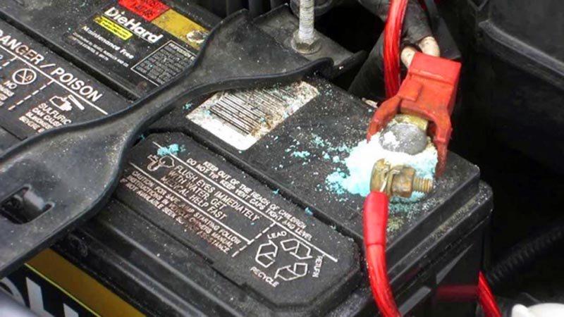 Аккумулятор и клеммы ВАЗ 2114