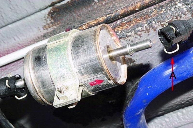 Топливный фильтр ВАЗ 2114