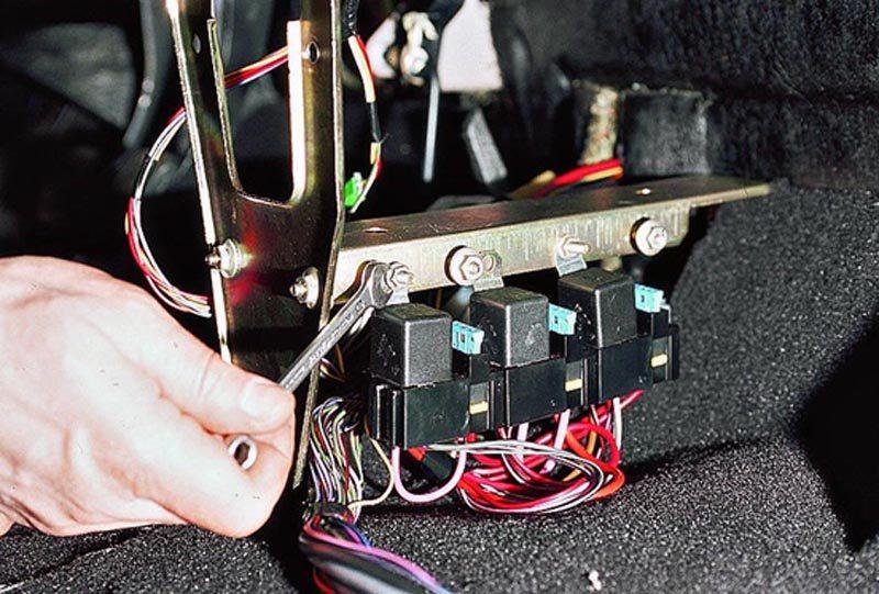 ВАЗ 2114: схема включения вентилятора охлаждения
