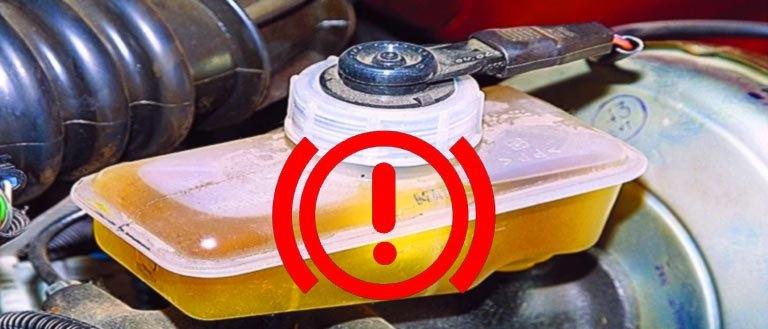 Горит восклицательный знак на панели приборов ВАЗ 2114