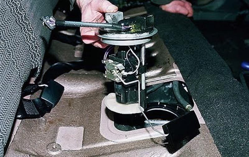 Замена бензонасоса ВАЗ 2114