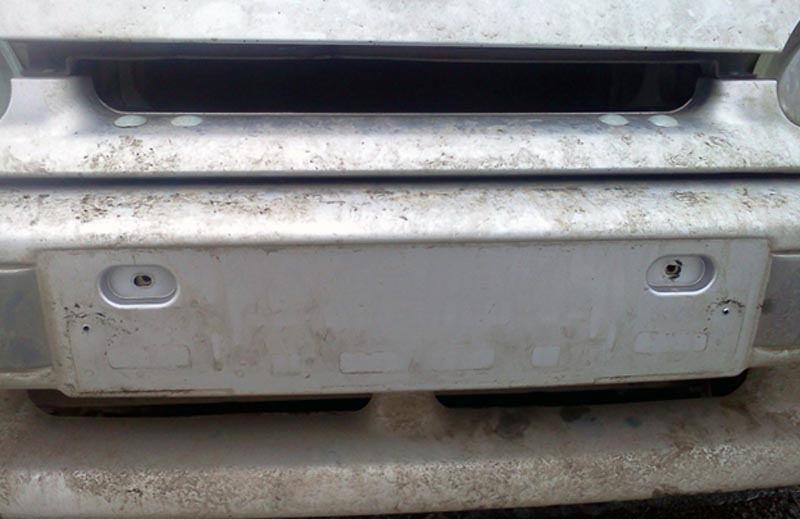 Замена переднего бампера ВАЗ 2114